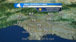 Warm Temps Ahead of Easter Weekend