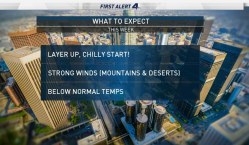 AM Forecast: Wind Adds to Chill in Air