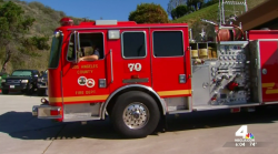Firefighters Brace for Worst During Red Flag Warning