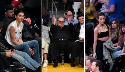 Celebrity Fans in the Stands: Los Angeles Lakers Edition