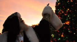 Making Merry With Santa in Malibu
