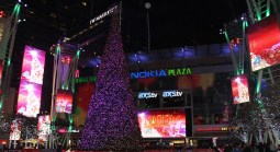 NBC4 Launches Fritz's Holiday Lights and Toys for Tots Campaign at  L.A. LIVE/ NBC4 Holiday Tree Lighting