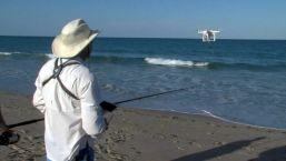 Fishermen Adds Tech to Tackle Box With Drone Fishing
