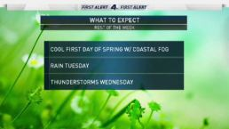 AM Forecast: Start of Spring
