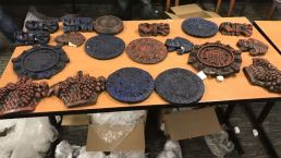Photos: Drug Shipment Ring Disguised Meth as Aztec Sculptures