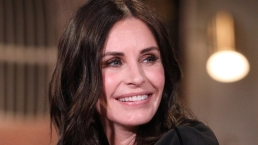 Courteney Cox Trains Toddler To Say 'Friends' Catchphrase