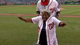 'Dancing Grandma' Shows Off Moves at Nats Park