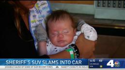 7-Week-Old Baby Hurt in Riverside Sheriff SUV Crash