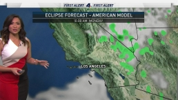 AM Forecast: Marine Layer Causing Below Average Temps