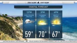 AM Forecast: Beautiful Memorial Day