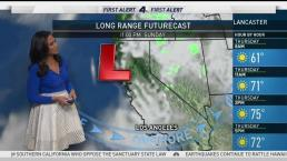 AM Forecast: Low Pressure System Brings Comfy Temps