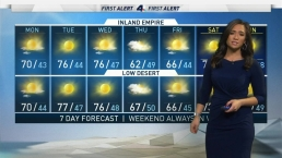 AM Forecast: Temperatures Warm Up
