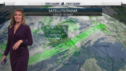 AM Forecast: Scattered Light Showers