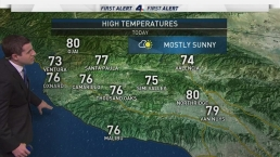 AM Forecast: Sunny Skies Expected