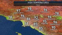 First Alert Forecast: Temperatures Lowering Slightly