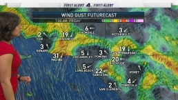 AM Forecast: Wind Advisory for Most of SoCal