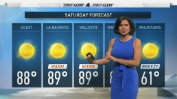 AM Forecast: Warm and Sunny Saturday