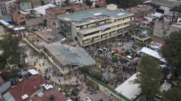At Least 25 Killed in Mexico City School Collapse