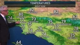 PM Forecast: Beautiful Afternoon in Store for SoCal