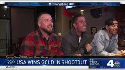 Cayla Barnes' Brother, Team USA Fans React to Epic Win