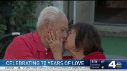 Couple Celebrates 70th Anniversary on Thanksgiving