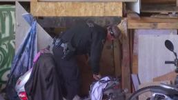 Crews Clear Out Homeless Over Fire Fears