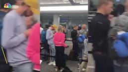 Computer Issues Cause Long Lines at Airport Customs