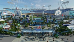Dodgers Unveil $100 Million Renovation Plan of Stadium