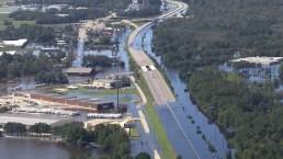 Aerial Footage Shows Devastating Flooding in N.C.