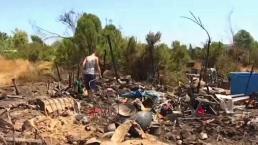 Fire Danger in the Sepulveda Basin Forces Encampment Cleanup