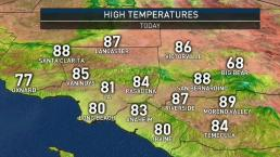 First Alert Forecast: Cooler Weather