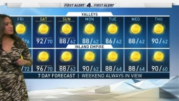 First Alert Forecast: Less Humidity
