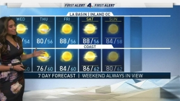 First Alert Forecast: Temperatures Sta at or Above Normal