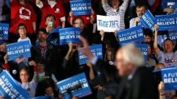 See Photos of N.H. Primary Vote