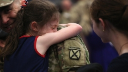 Soldiers Welcomed Home After 9-Month Deployment in Iraq
