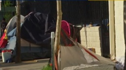 LA Mayor Speaks About Homeless Outreach, Housing