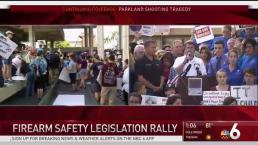 'Enough Is Enough': Hundreds Protest Gun Violence in Fla.