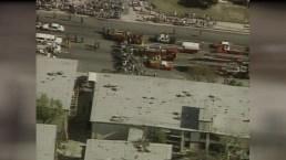 Northridge Earthquake: Damage at Northridge Manor Apartments