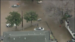 RAW: Aerial Footage Captures Extent of San Jose Flooding