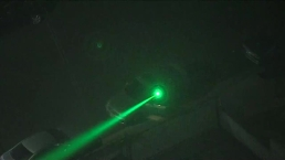 Laser Pointed at NewsChopper4 Over Koreatown