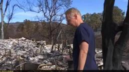 Former Congressman's Malibu Home Leveled in Fire