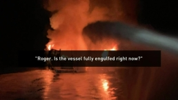 Audio: Mayday Calls During the Conception Dive Boat Fire