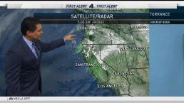Midday Forecast: Rain Coming to SoCal