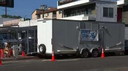 Mobile Units Provide Showers To Homeless Encampments