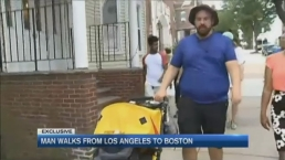 Man Walks From West to East Coast on Personal Journey