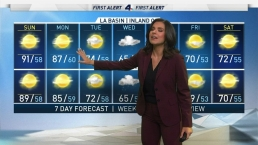 First Alert Forecast: Red Flag Warning