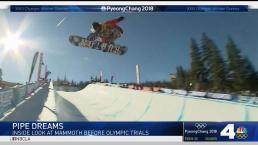 Inside Look at Mammoth Mountain Before Olympic Trials