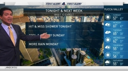 PM Forecast: Hit and Miss Showers Tonight