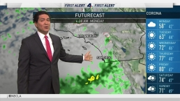 PM Forecast: A Few More Showers Monday