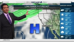 PM Forecast: Dry and Cool Through Wednesday